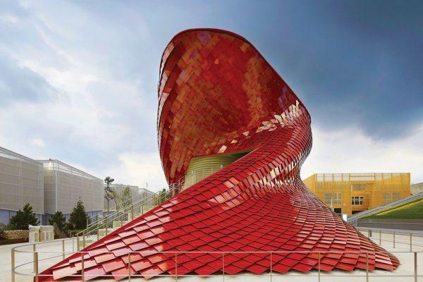Vanke Pavilion, Milan, Italy - Keil Anchor TILE EZE