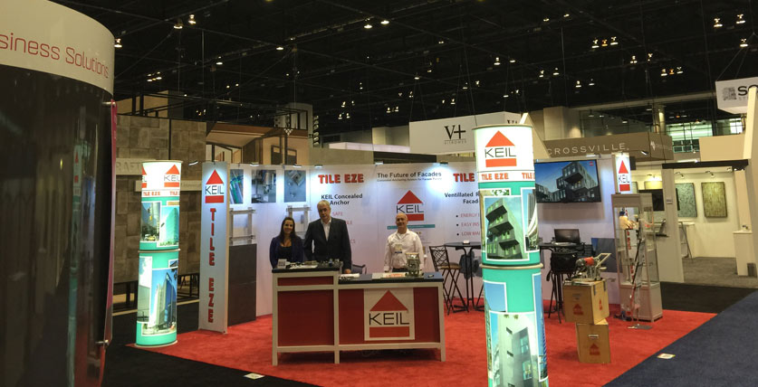KEIL Anchor TILE EZE - Tradeshow Booth