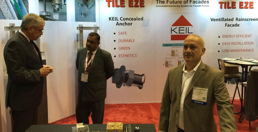 KEIL Anchor TILE EZE - Tradeshow
